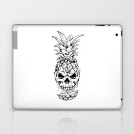Skull Pineapple Fruit Laptop & iPad Skin