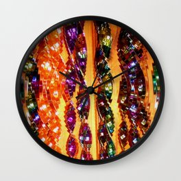 Wind Chimes Wall Clock