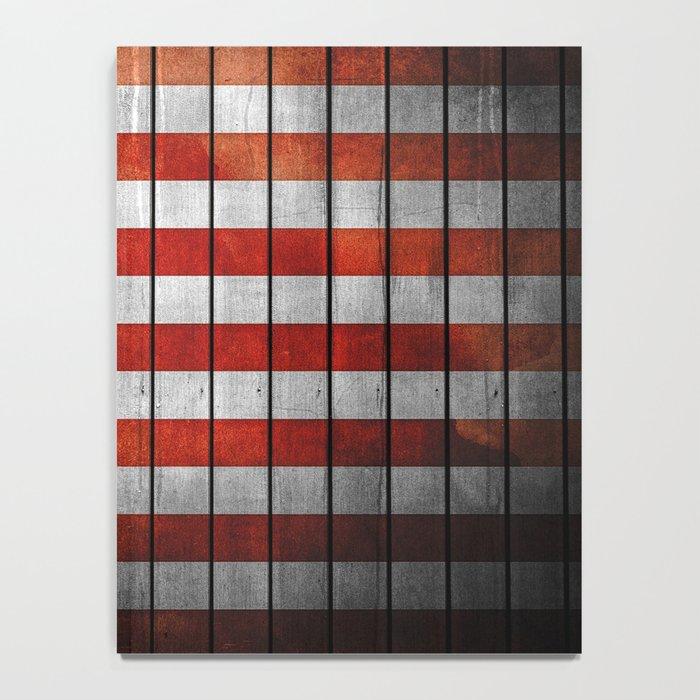 American Flag Notebook