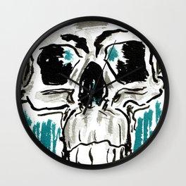 Learn: Skull Wall Clock