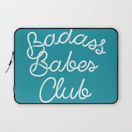 Badass Babes Club Laptop Sleeve