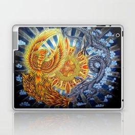 Chinese Phoenix and Dragon Mandala Laptop & iPad Skin