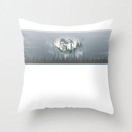 Whip Line Throw Pillow
