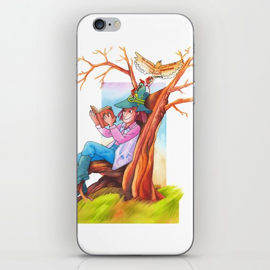 The beginning of an adventure iPhone & iPod Skin
