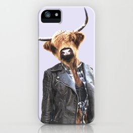 Cow Girl iPhone Case