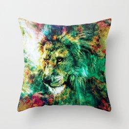 THE KING VI Throw Pillow