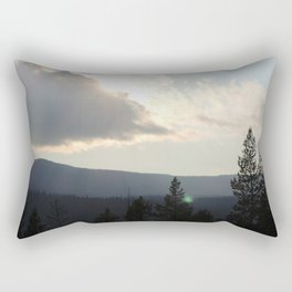 Grand Teton National Forest Rectangular Pillow