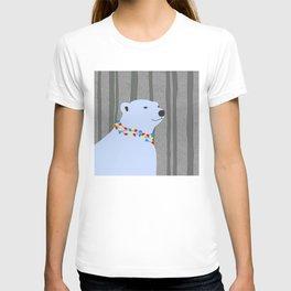 Polar Bear Holiday Design T-shirt
