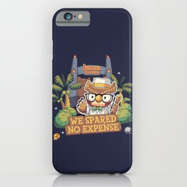 No expense Blathers Animal Crossing iPhone Case