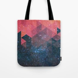 Space triangles 02 Tote Bag