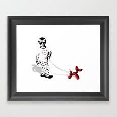 Walking Jeff  Framed Art Print