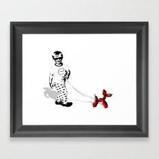 Walking Jeff  Framed Art Print