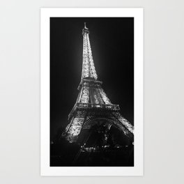 From Paris with Love Art Print