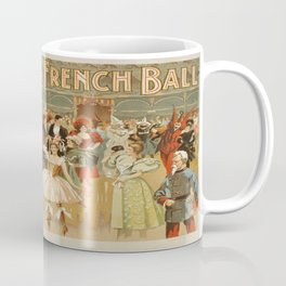 Vintage poster - Fanny Rice at the French Coffee Mug