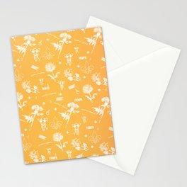 yellow pampa Stationery Cards