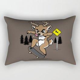 Skate Buck Rectangular Pillow