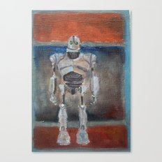 Iron Giant and Rothko Canvas Print