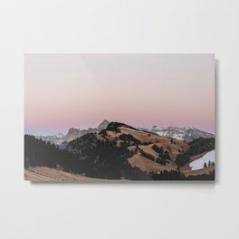 Pastel Sunset | Nature and Landscape Photography Metal Print