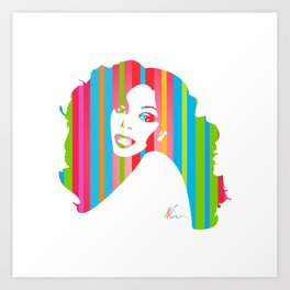 Donna Summer | Pop Art Kunstdrucke