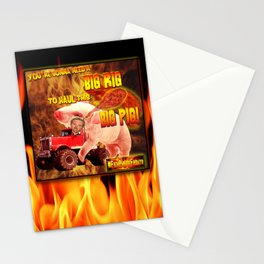 Guy Fieri in his Big Rig Stationery Cards