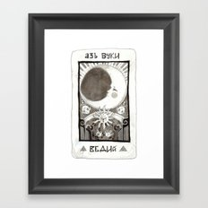 alpha beta gamma Framed Art Print