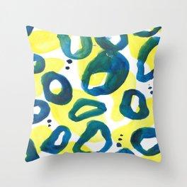 circular_ Collab Eva Halfers Throw Pillow