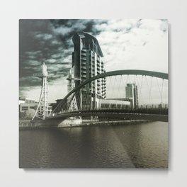 salford quays Metal Print