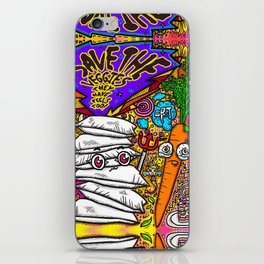 Save the Veggies! - Carrot iPhone Skin