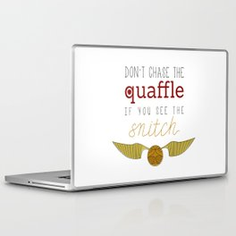 quaffle and snitch Laptop & iPad Skin