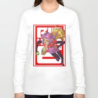 arsenal Long Sleeve T-shirts featuring Add some honey and lemon by Eisu's Art for sale: Prints and stuff