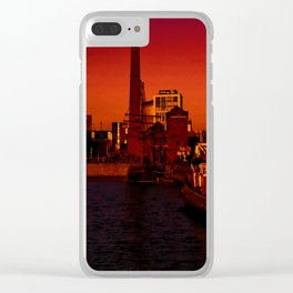 The Pump House Clear iPhone Case