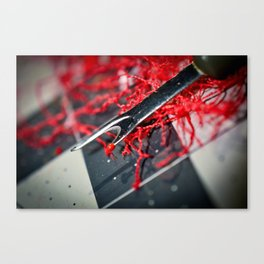 Seam Ripper aka The Ripper Canvas Print
