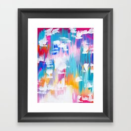 Happy Abstracts Framed Art Print