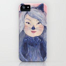 BaeBae Kitty iPhone Case