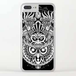 Ancient Prophecy Clear iPhone Case