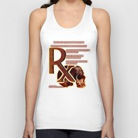 depression Tank Tops featuring Depression or the Pain - 111 by Lazy Bones Studios