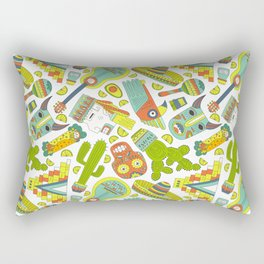 Viva Mexico Rectangular Pillow