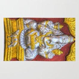 Indian Temple Elephant Rug
