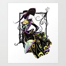 -V- Art Print