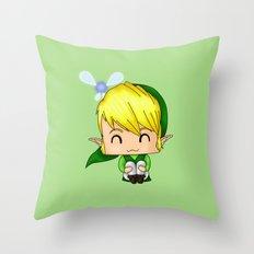 Chibi Link Throw Pillow