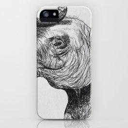 Elephant Smile iPhone Case