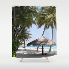 Dream Beach Shower Curtain