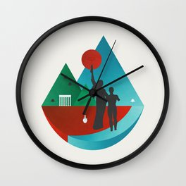 Lebanon Wall Clock
