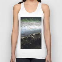mushrooms Tank Tops featuring mushrooms by nast