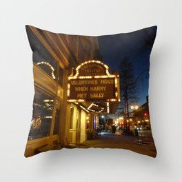 When Harry Met Sally Throw Pillow