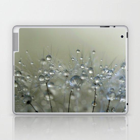 Gold Sparkles Laptop & iPad Skin