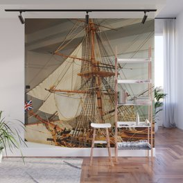 Nelson's HMS Victory Model Wall Mural