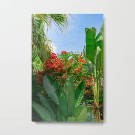 Lush Tropicals Metal Print