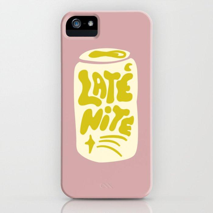 LATE NITE iPhone Case
