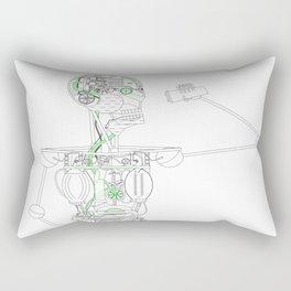 Coffee Machina Rectangular Pillow